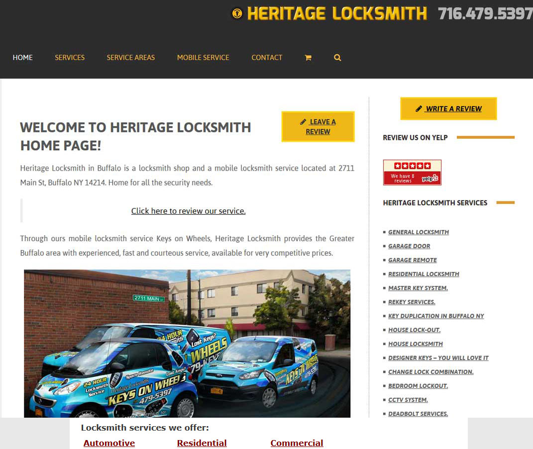 New Website Web Design