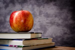 Apple on a stack of books | Is Duplicate Content Killing Your Website's Rank? Buffalo Booster, Buffalo NY