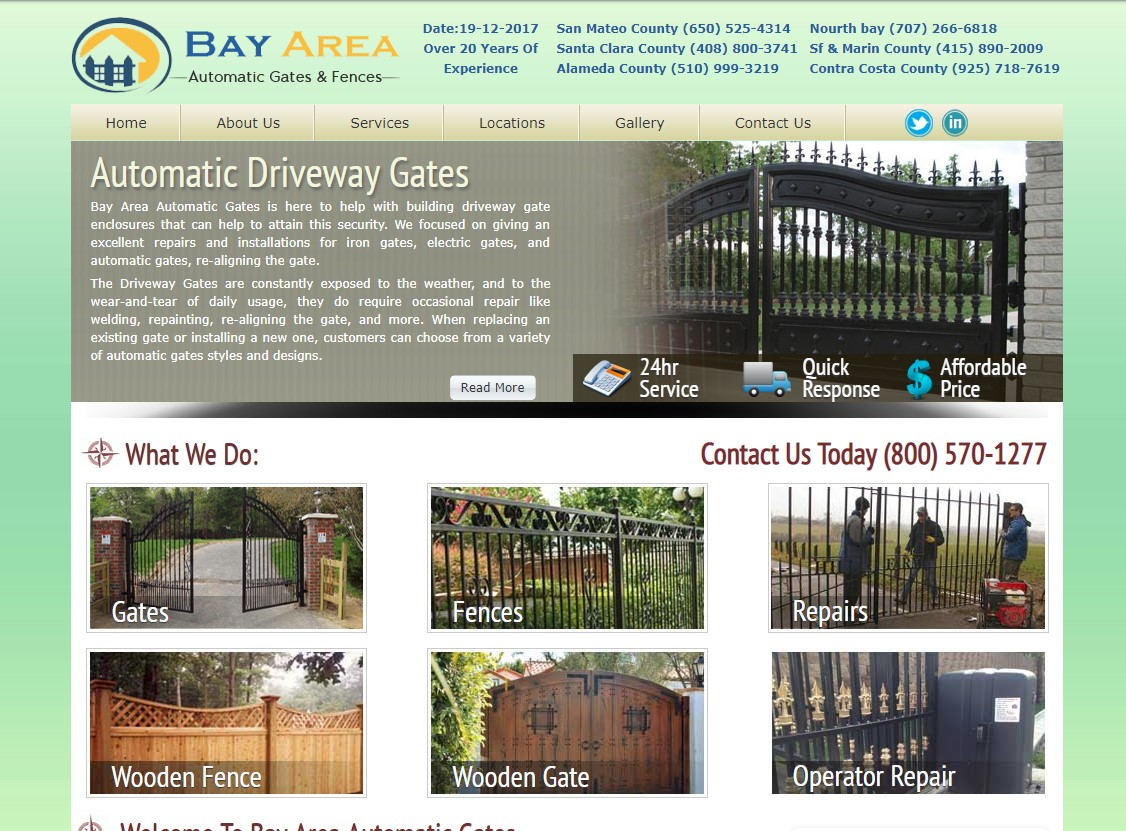 bay area automatic gates